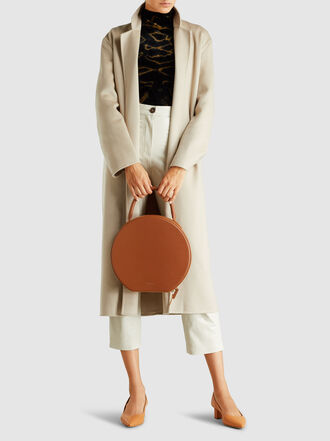 Mansur Gavriel - Circle Leather Top Handle Bag