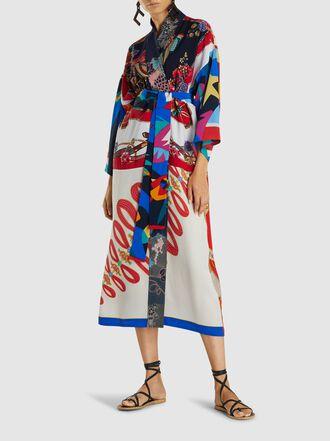 RIANNA + NINA - Patchwork Vintage Silk Kimono
