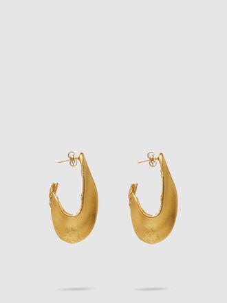 ALIGHIERI - Il Leone Hoop Earrings