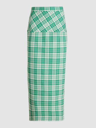 Rachel Comey - Transpire Check Pencil Skirt