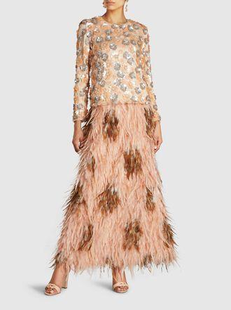Alison Brett - Loulou Birthday Feathered Skirt