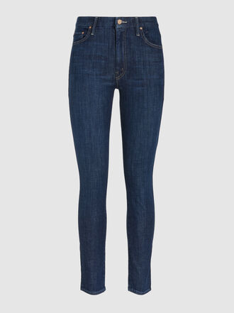 MOTHER - The Looker High-Waisted Skinny Jeans