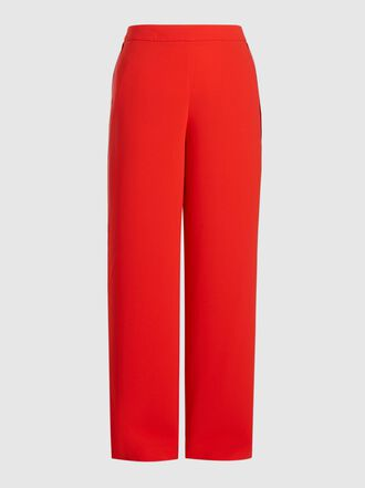 LAYEUR - Evelyn Wide Leg Stretch Trousers