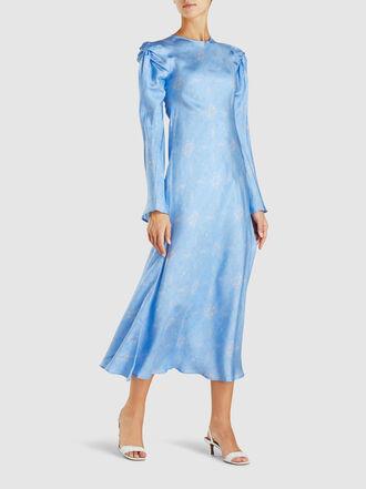 Maggie Marilyn - Love Me Knot Printed Silk Dress