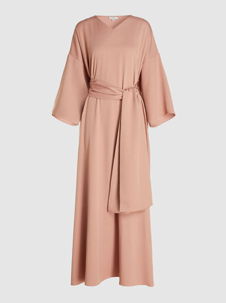 LAYEUR - Franklin Tie-Waist Draped Kaftan