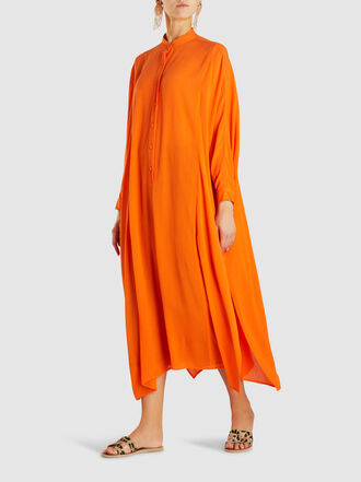 Rachel Comey - Solicitous Button-Up Viscose Kaftan Dress