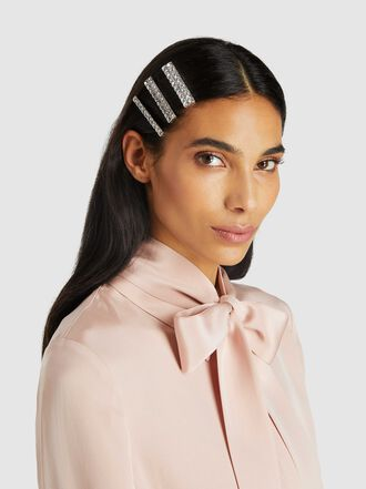 Alessandra Rich - Crystal Studded Hairclips