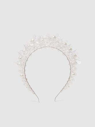 Simone Rocha - PVC and Faux Pearl Headband