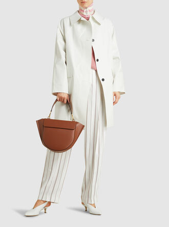 WANDLER - Hortensia Medium Leather Bag