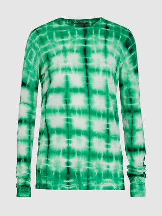 Proenza Schouler - Tie-Dye Crew Neck Shirt