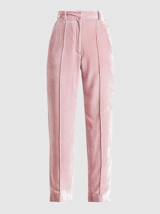 Racil - Charlie High-Rise Velvet Trousers