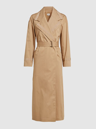 LAYEUR - Leigh Stretch Cotton-Twill Trench Coat
