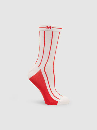 MSGM - Striped Stretch Socks