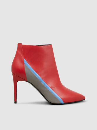 Pierre Hardy - Alpha Tri-Tone Leather Ankle Boots