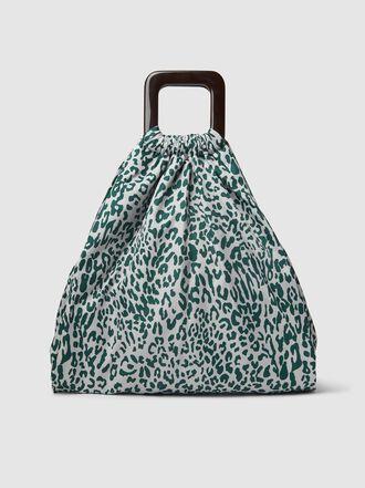 Baum und Pferdgarten - Kinu Leopard-Print Pouch Bag