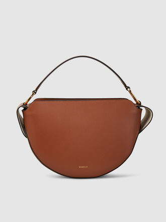 WANDLER - Yara Half-Moon Calf Leather Bag