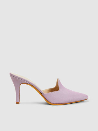 Maryam Nassir Zadeh - Pierre Textured-Leather Mules
