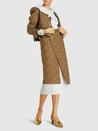Rejina Pyo - Steffi Skirt Cotton Wrap Midi Skirt