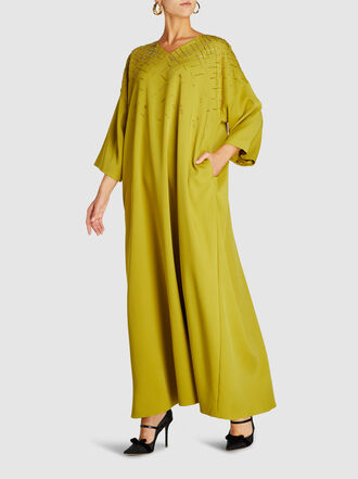LAYEUR - Franklin Embellished Kaftan