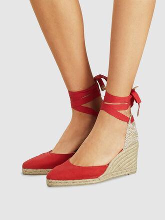 Castañer - Joyce Pointed Toe Wedge Heel Espadrilles