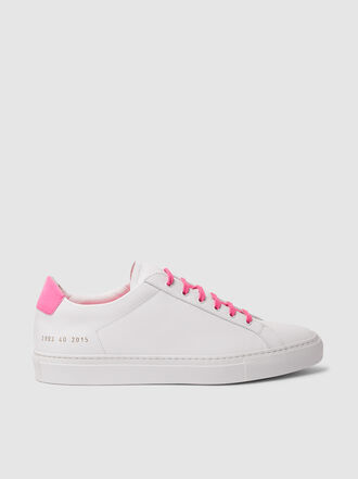 Common Projects - Achilles Retro Low-Top Leather Sneakers