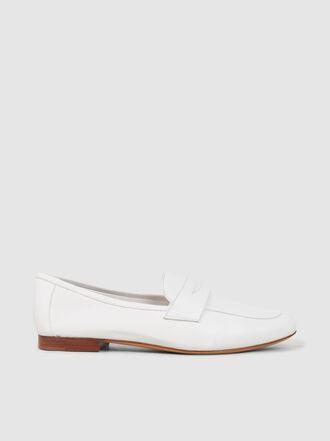 Mansur Gavriel - Classic Buffed Lambskin Leather Loafers