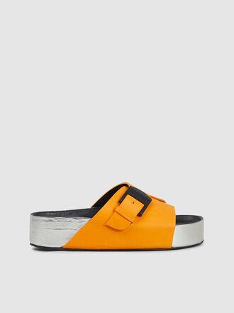 Simon Miller - Chunk Leather Platform Slides