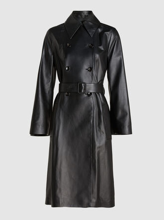 Joseph - Romney Nappa Leather Trench Coat