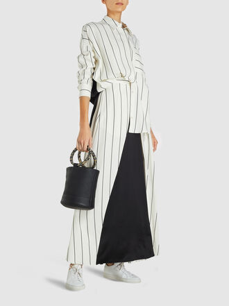 LAYEUR - Leigh Panelled Voile Maxi Skirt