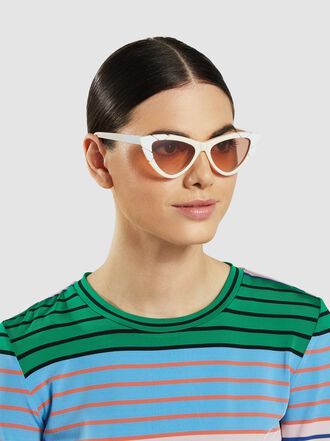 Pared - Piccolo & Grande Cat-Eye Acetate Sunglasses