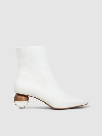 NEOUS - Encyclia Orb Heel Leather Boots