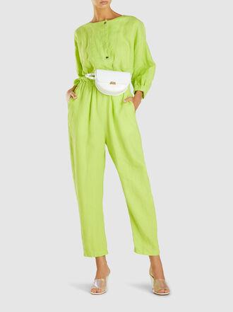 Rachel Comey - Holt Button-Front Linen Jumpsuit