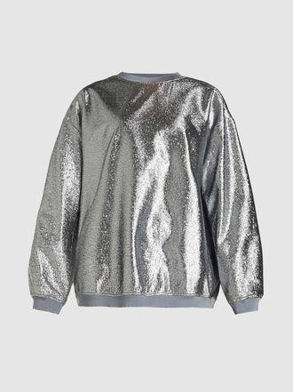 LAYEUR - Stewart Sparkling Woven Sweatshirt