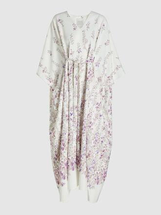 INGIE Paris - Floral Print Belted Kaftan