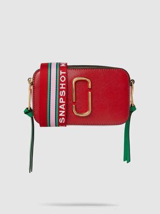 Marc Jacobs - Snapshot Textured-Leather Shoulder Bag