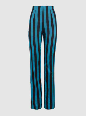 16ARLINGTON - Striped Tailored Trousers