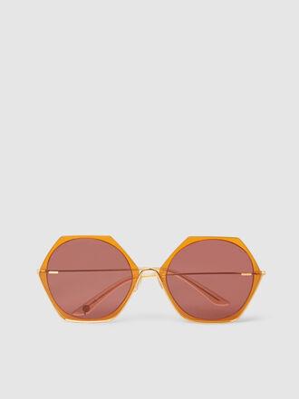 MØY ATELIER - Erudite Hexagon-Frame Sunglasses
