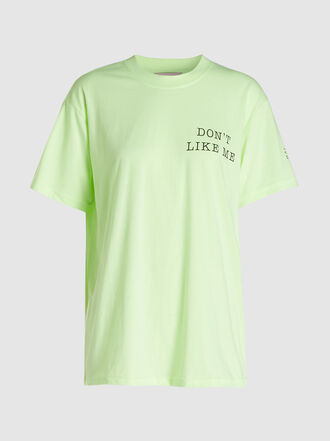 Natasha Zinko - Don't Like Me Printed Cotton-Blend T-Shirt