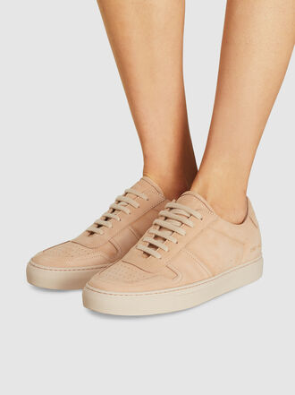Common Projects - BBall Low-Top Suede Sneakers