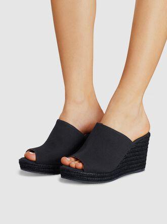 Castañer - Bubu Canvas Wedge Sandals