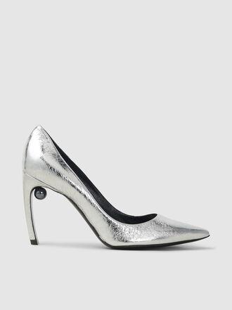 Nicholas Kirkwood - Mira Pearl Detail Metallic Leather Pumps