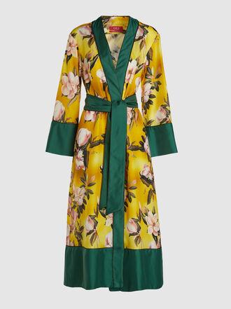 F.R.S For Restless Sleepers - Nomos Long Sleeve Printed Silk Kimono