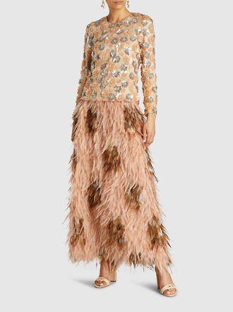 Alison Brett - Embroidered Flower Tulle Top