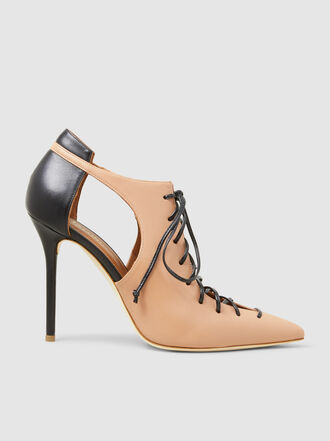 Malone Souliers - Montana Leather Pointed Pumps