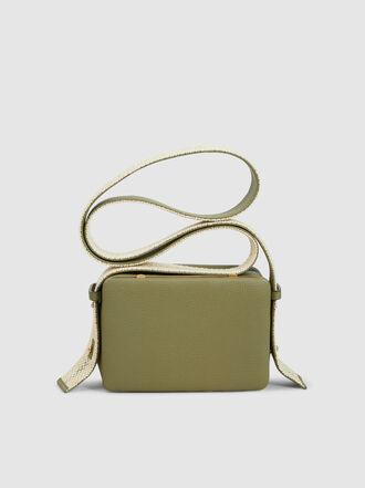 LUTZ MORRIS - Maya Woven Strap Leather Shoulder Bag