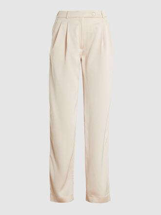 LAYEUR - Leigh Straight-Leg Viscose-Blend Trousers