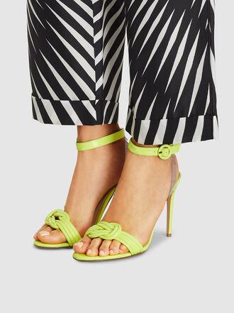 ALEXANDRE BIRMAN - Vicky Leather Knotted Sandals