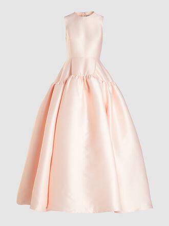 HUISHAN ZHANG - Sleeveless Balloon-Shape Silk-Blend Gown