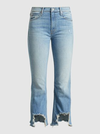 MOTHER - The Dutchie Frayed Slim-Leg Jeans