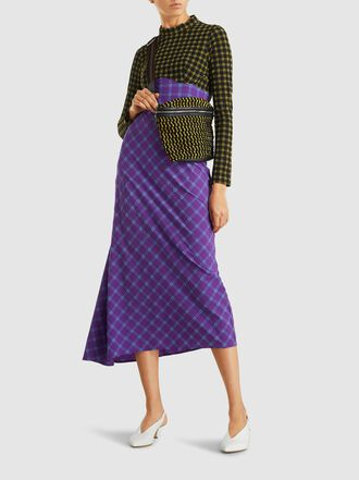 Rachel Comey - Keno Woven Cotton and Canvas Belt Bag